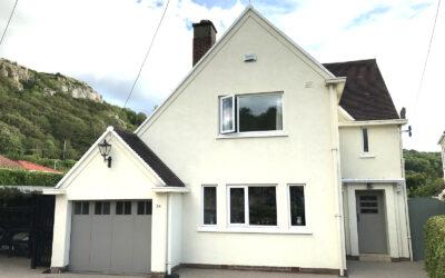 34 Bryn Y Bia Road Craigside LLandudno LL30 3AS. £525,000